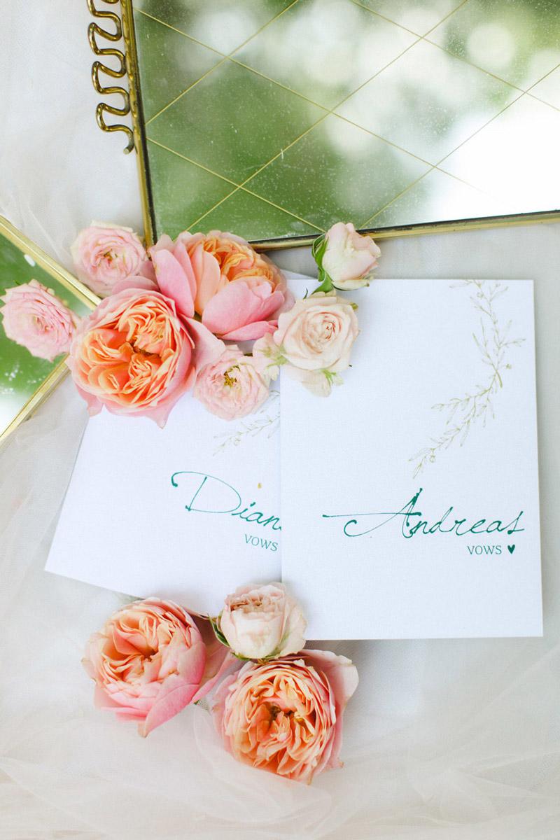 Wedding invitations greece – prosklitiria gamou – prosklisis gamou – calligraphy wedding stationery in emerald green