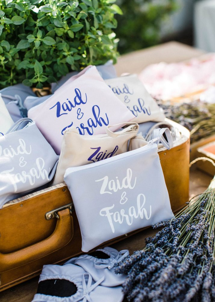 Wedding invitations greece – prosklitiria gamou – prosklisis gamou – feathers and succulents wedding - wedding favor canvas bag
