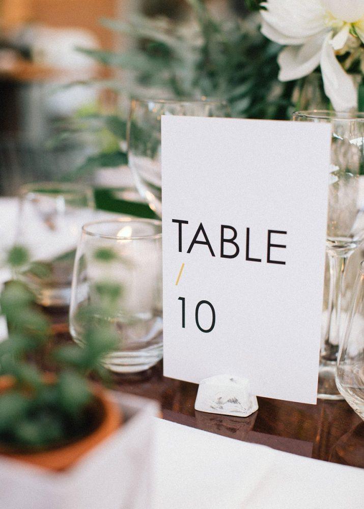 Wedding invitations greece – prosklitiria gamou – prosklisis gamou – modern and minimal wedding table numbers